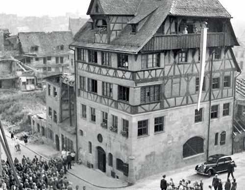 Weichenstellungen für den Wiederaufbau in Nürnberg